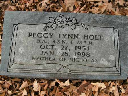 HOLT, PEGGY LYNN - Boone County, Arkansas | PEGGY LYNN HOLT - Arkansas Gravestone Photos