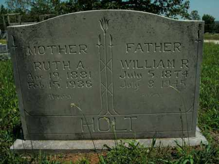 HOLT, WILLIAM R. - Boone County, Arkansas | WILLIAM R. HOLT - Arkansas Gravestone Photos