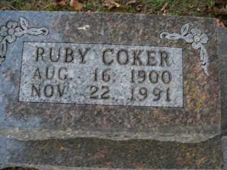 COKER HOLT, RUBY - Boone County, Arkansas | RUBY COKER HOLT - Arkansas Gravestone Photos