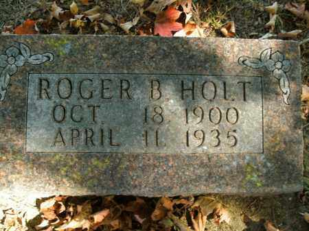 HOLT, ROGER BUEL - Boone County, Arkansas | ROGER BUEL HOLT - Arkansas Gravestone Photos