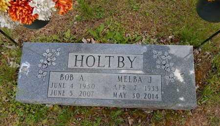HOLTBY, BOB A SR - Boone County, Arkansas | BOB A SR HOLTBY - Arkansas Gravestone Photos