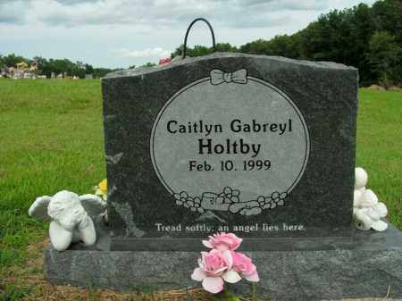 HOLTBY, CAITLYN GABREYL - Boone County, Arkansas | CAITLYN GABREYL HOLTBY - Arkansas Gravestone Photos