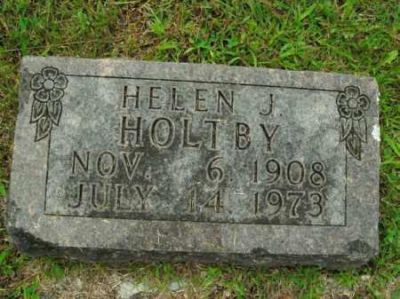 HOLTBY, HELEN J. - Boone County, Arkansas | HELEN J. HOLTBY - Arkansas Gravestone Photos