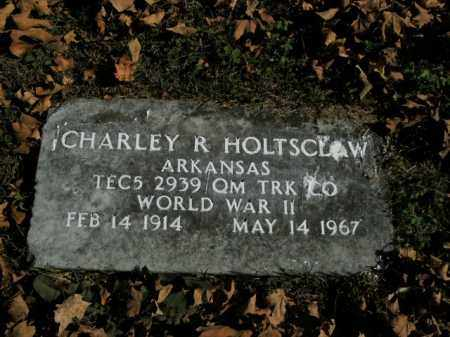 HOLTSCLAW  (VETERAN WWII), CHARLEY R - Boone County, Arkansas | CHARLEY R HOLTSCLAW  (VETERAN WWII) - Arkansas Gravestone Photos