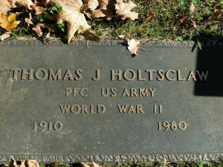 HOLTSCLAW  (VETERAN WWII), THOMAS J - Boone County, Arkansas   THOMAS J HOLTSCLAW  (VETERAN WWII) - Arkansas Gravestone Photos