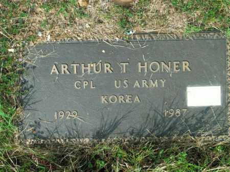 HONER  (VETERAN KOR), ARTHUR T - Boone County, Arkansas | ARTHUR T HONER  (VETERAN KOR) - Arkansas Gravestone Photos