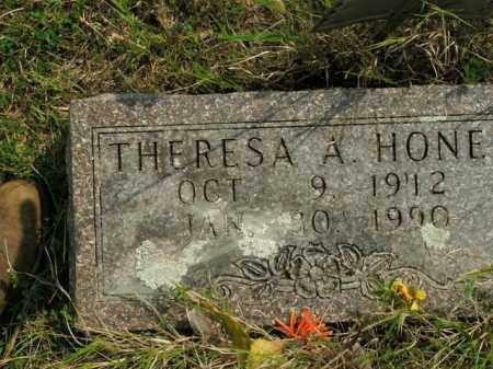 HONER, THERESA A. - Boone County, Arkansas | THERESA A. HONER - Arkansas Gravestone Photos