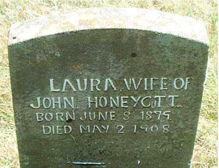 CANTRELL HONEYCUTT, LAURA - Boone County, Arkansas | LAURA CANTRELL HONEYCUTT - Arkansas Gravestone Photos