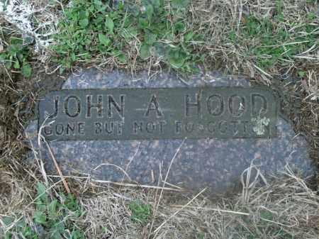 HOOD, JOHN A. - Boone County, Arkansas | JOHN A. HOOD - Arkansas Gravestone Photos