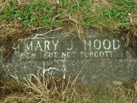 HOOD, MARY J. - Boone County, Arkansas | MARY J. HOOD - Arkansas Gravestone Photos