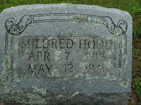 HOOD, MILDRED - Boone County, Arkansas | MILDRED HOOD - Arkansas Gravestone Photos