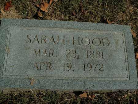 HOOD, SARAH - Boone County, Arkansas | SARAH HOOD - Arkansas Gravestone Photos