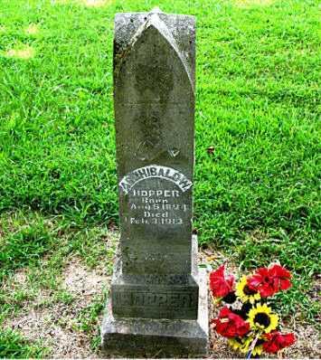 HOPPER  (VETERAN CSA POW), ARCHIBALD W - Boone County, Arkansas | ARCHIBALD W HOPPER  (VETERAN CSA POW) - Arkansas Gravestone Photos