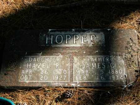 HOPPER, HAZEL R. - Boone County, Arkansas | HAZEL R. HOPPER - Arkansas Gravestone Photos