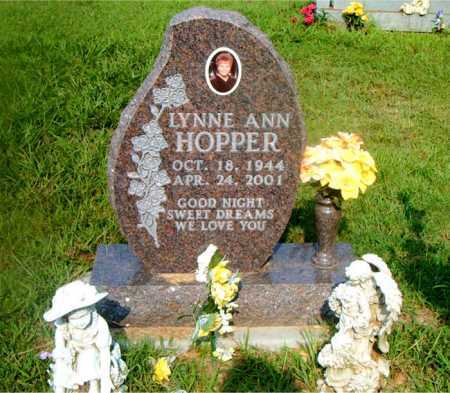 HOPPER, LYNNE ANN - Boone County, Arkansas | LYNNE ANN HOPPER - Arkansas Gravestone Photos