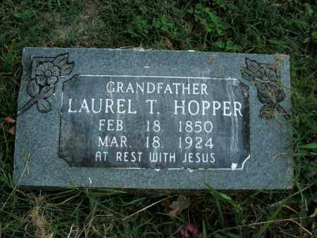 HOPPER, LAUREL T. - Boone County, Arkansas | LAUREL T. HOPPER - Arkansas Gravestone Photos