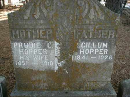 HOPPER  (VETERAN UNION), GILLUM - Boone County, Arkansas | GILLUM HOPPER  (VETERAN UNION) - Arkansas Gravestone Photos