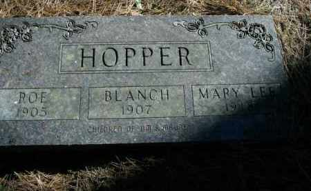 HOPPER, MARY LEE - Boone County, Arkansas | MARY LEE HOPPER - Arkansas Gravestone Photos