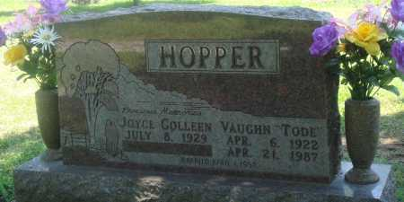 "HOPPER, VAUGHN ""TODE"" - Boone County, Arkansas 