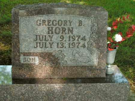 HORN, GREGORY B. - Boone County, Arkansas | GREGORY B. HORN - Arkansas Gravestone Photos