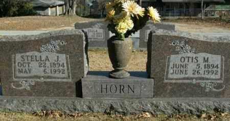 JORDAN HORN, STELLA J. - Boone County, Arkansas | STELLA J. JORDAN HORN - Arkansas Gravestone Photos