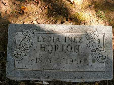 HORTON, LYDIA INEZ - Boone County, Arkansas | LYDIA INEZ HORTON - Arkansas Gravestone Photos