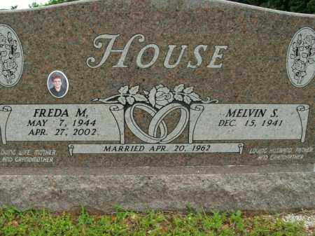HOUSE, FREDA M. - Boone County, Arkansas | FREDA M. HOUSE - Arkansas Gravestone Photos