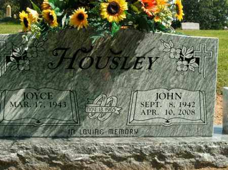 HOUSLEY, JOHN - Boone County, Arkansas | JOHN HOUSLEY - Arkansas Gravestone Photos