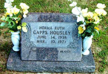 HOUSLEY, NORMA RUTH - Boone County, Arkansas | NORMA RUTH HOUSLEY - Arkansas Gravestone Photos