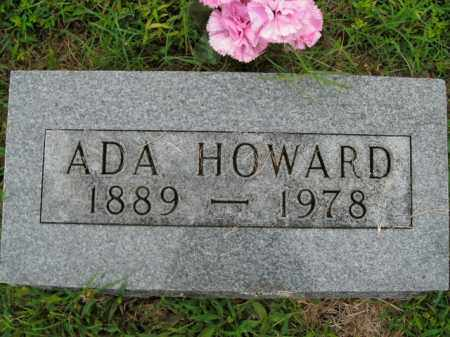 HOWARD, ADA - Boone County, Arkansas | ADA HOWARD - Arkansas Gravestone Photos