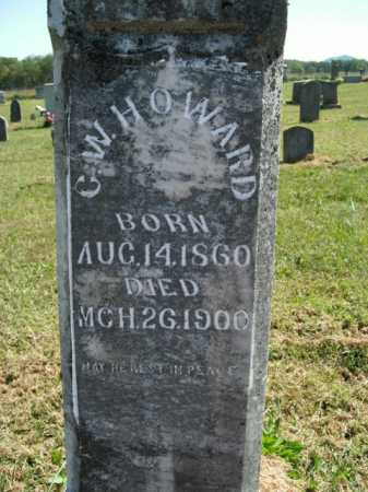 HOWARD, C.W. - Boone County, Arkansas | C.W. HOWARD - Arkansas Gravestone Photos