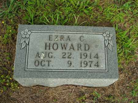 HOWARD, EZRA CLINTON - Boone County, Arkansas | EZRA CLINTON HOWARD - Arkansas Gravestone Photos