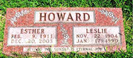 HOWARD, LESLIE - Boone County, Arkansas | LESLIE HOWARD - Arkansas Gravestone Photos
