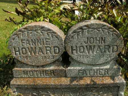 HOWARD, FANNIE - Boone County, Arkansas | FANNIE HOWARD - Arkansas Gravestone Photos