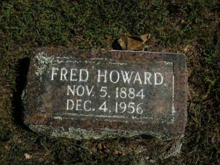 HOWARD, FRED - Boone County, Arkansas | FRED HOWARD - Arkansas Gravestone Photos