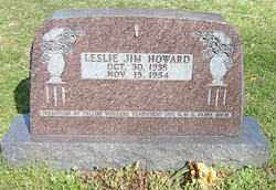 HOWARD, LESLIE JIM - Boone County, Arkansas | LESLIE JIM HOWARD - Arkansas Gravestone Photos