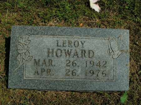 HOWARD, LEROY - Boone County, Arkansas | LEROY HOWARD - Arkansas Gravestone Photos