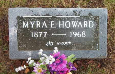 HOWARD, MYRA E. - Boone County, Arkansas | MYRA E. HOWARD - Arkansas Gravestone Photos