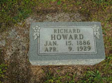 HOWARD, RICHARD - Boone County, Arkansas | RICHARD HOWARD - Arkansas Gravestone Photos