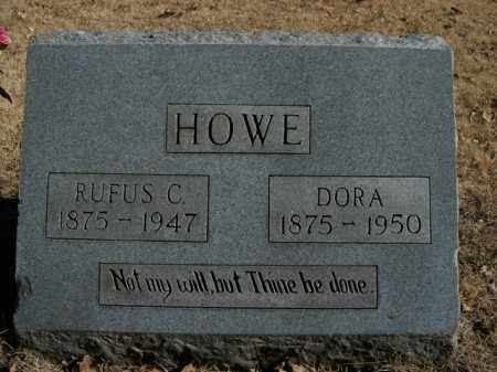 HOWE, RUFUS C. - Boone County, Arkansas | RUFUS C. HOWE - Arkansas Gravestone Photos