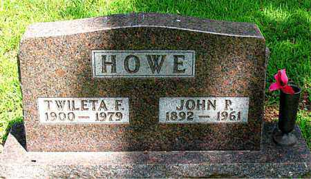 HOWE, JOHN P. - Boone County, Arkansas | JOHN P. HOWE - Arkansas Gravestone Photos