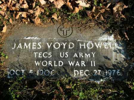 HOWELL  (VETERAN WWII), JAMES VOYD - Boone County, Arkansas   JAMES VOYD HOWELL  (VETERAN WWII) - Arkansas Gravestone Photos