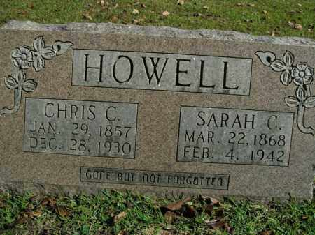 HOWELL, SARAH C. - Boone County, Arkansas | SARAH C. HOWELL - Arkansas Gravestone Photos