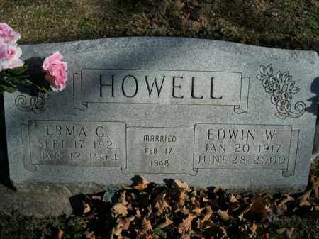 HOWELL, ERMA G. - Boone County, Arkansas | ERMA G. HOWELL - Arkansas Gravestone Photos