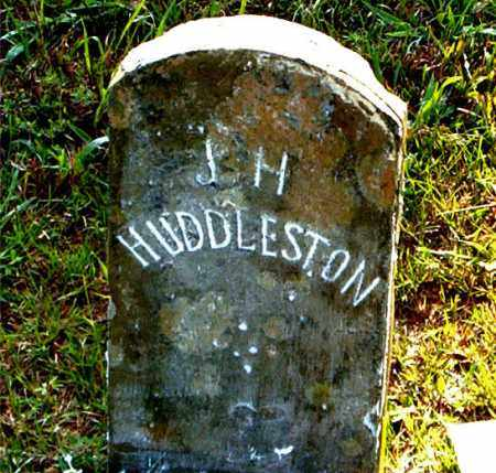 HUDDLESTON, J. H. - Boone County, Arkansas | J. H. HUDDLESTON - Arkansas Gravestone Photos