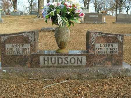 HUDSON, ANNIE - Boone County, Arkansas | ANNIE HUDSON - Arkansas Gravestone Photos