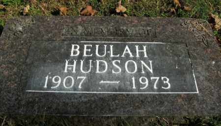 HUDSON, BEULAH - Boone County, Arkansas | BEULAH HUDSON - Arkansas Gravestone Photos