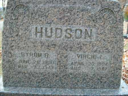 HUDSON, VIRGIE L. - Boone County, Arkansas | VIRGIE L. HUDSON - Arkansas Gravestone Photos