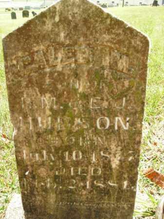 HUDSON, CALEB M. - Boone County, Arkansas | CALEB M. HUDSON - Arkansas Gravestone Photos
