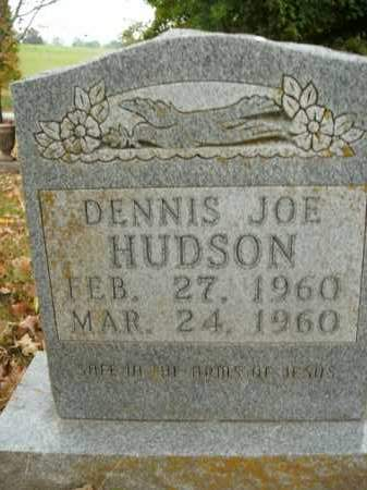 HUDSON, DENNIS JOE - Boone County, Arkansas | DENNIS JOE HUDSON - Arkansas Gravestone Photos